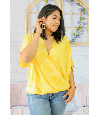 Welcome the Sun Blouse (Yellow)