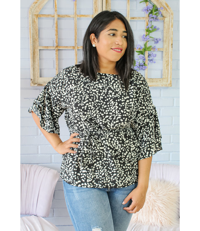 Spotty Chic Top
