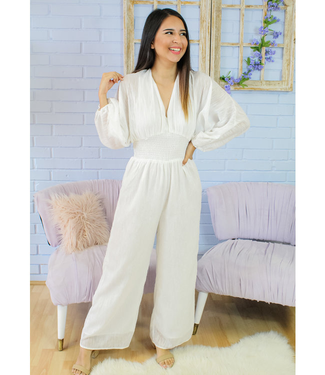 "Say ""I Do"" Jumpsuit"