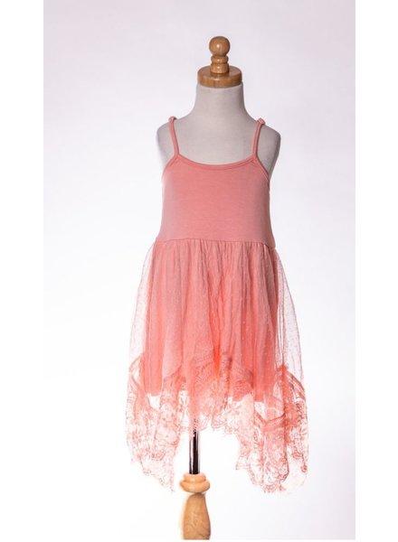 M.L. Kids Lace Tank Dress