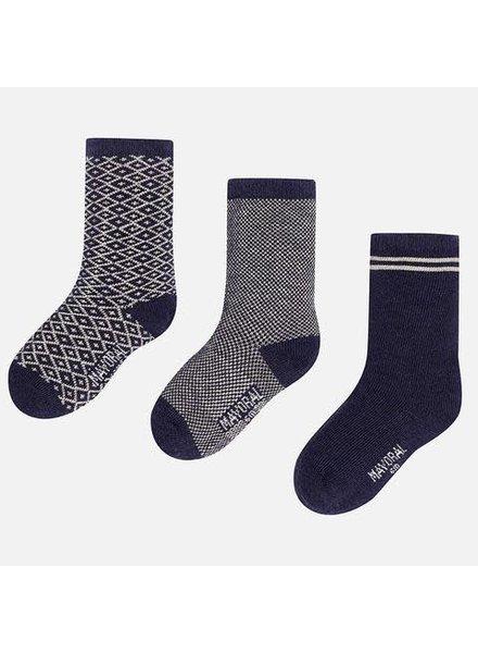 Mayoral Striped Sock Set {2 Color Options}