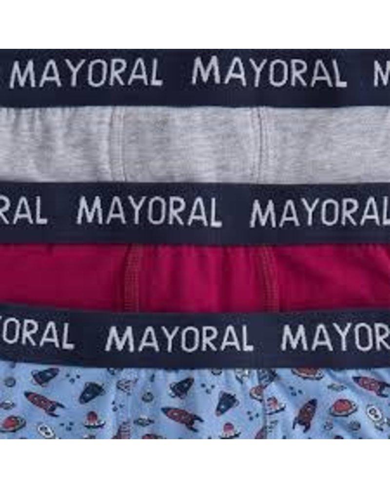 Mayoral Printed Boxer 3 Pack