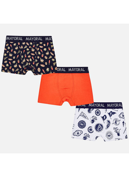 Mayoral Set of 3 Printed Boxers S18