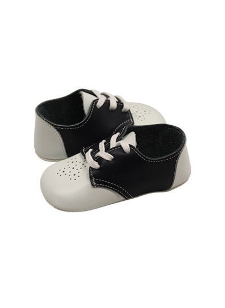 Two Tone Lace-Up