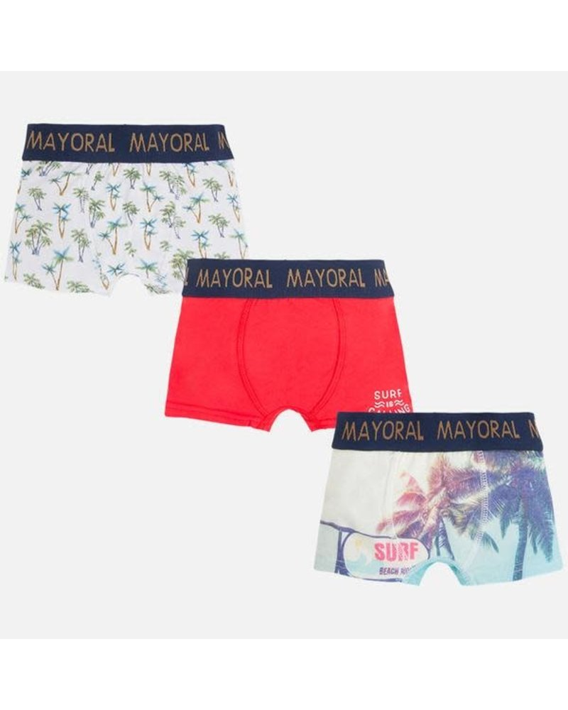 Mayoral 3pc Set Printed Boxer S17