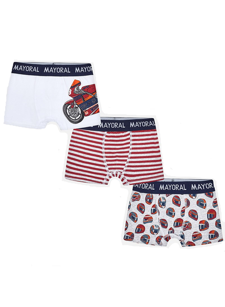 Mayoral Set of 3 Printed Boxers