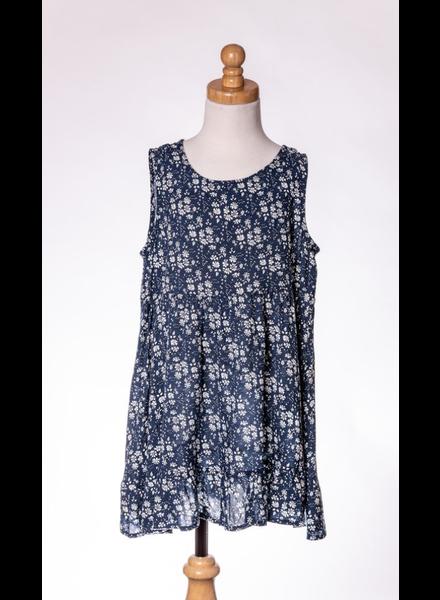 M.L. Kids Ditzy Print Dress