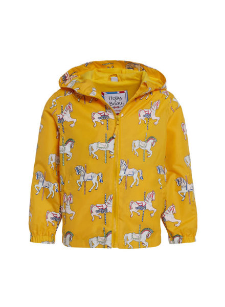 Holly & Beau Unicorn Magic Color Changing Raincoat (G) {Gray}
