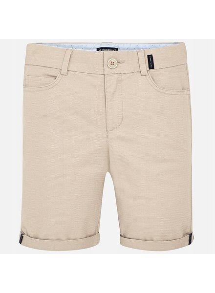 Mayoral Khaki Stretch Bermuda Shorts