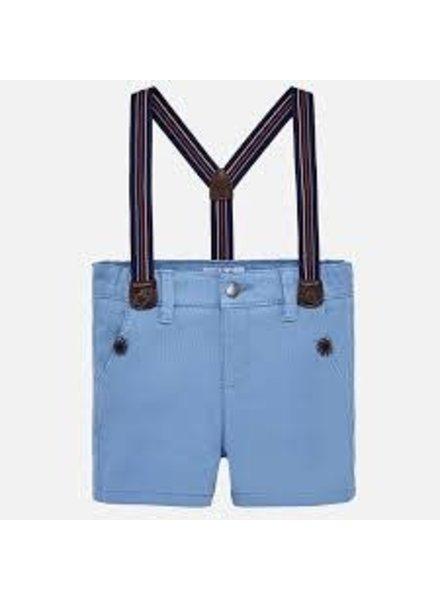 Mayoral Chino Shorts W/ Suspenders