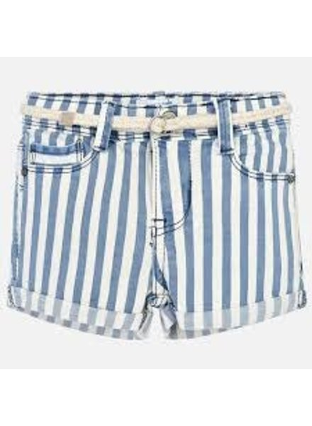 Mayoral Striped Shorts W/Belt
