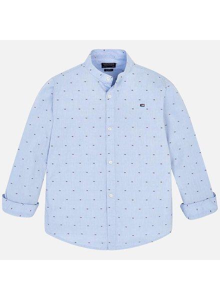 Nukutavake L/S Mao Collar Shirt