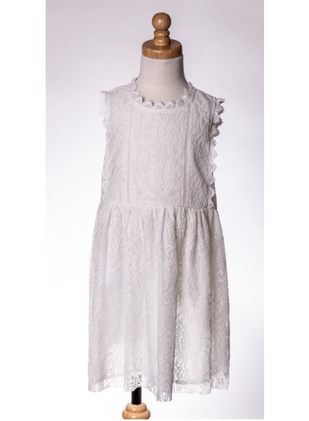 M.L. Kids Lace Dress
