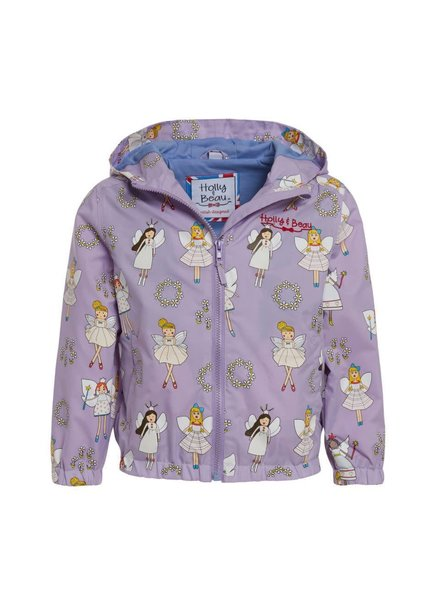 Holly & Beau Fairy Magic Color Changing Raincoat (G) {Lavender}