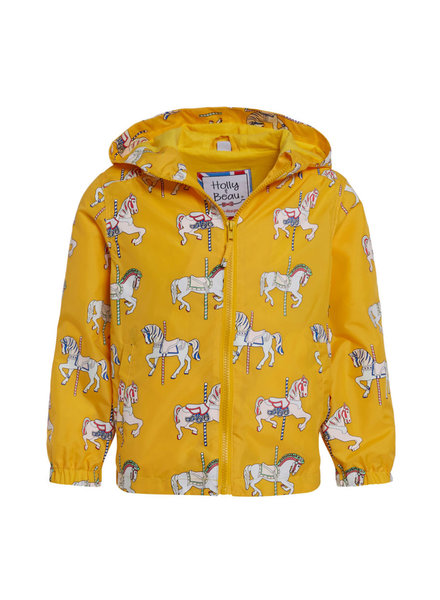 Holly & Beau Horse Magic Color Changing Raincoat (G) {Yellow}