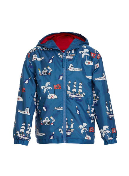 Holly & Beau Pirates HB Magic Color Changing Raincoat (B) {Blue}