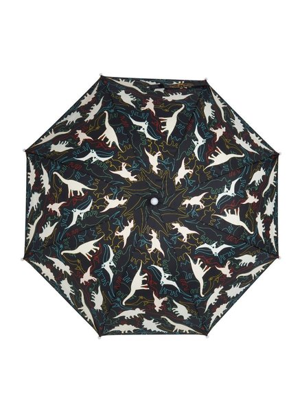 Holly & Beau Dinosaur Magic Color Changing Umbrella {Black}