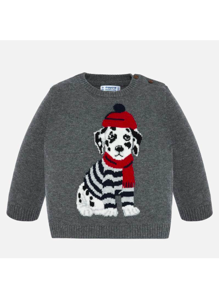 Mayoral Dalmation Sweater
