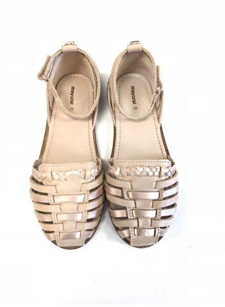 Mayoral Nude Color Flats
