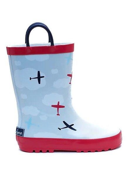 Timbee Airplane Rain Boots