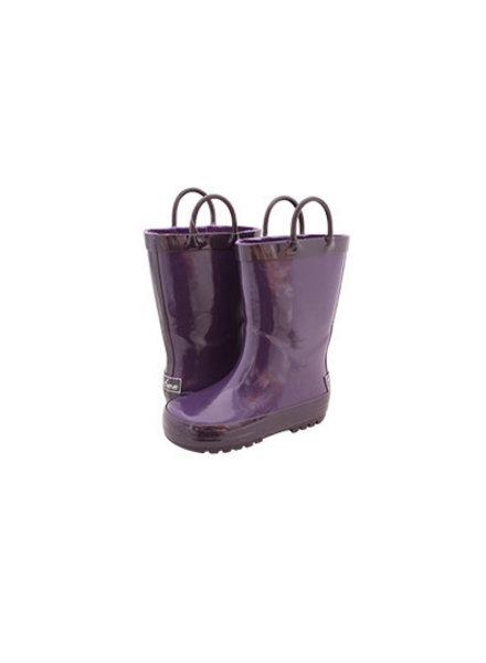 Timbee Purple & Plum Rain Boots