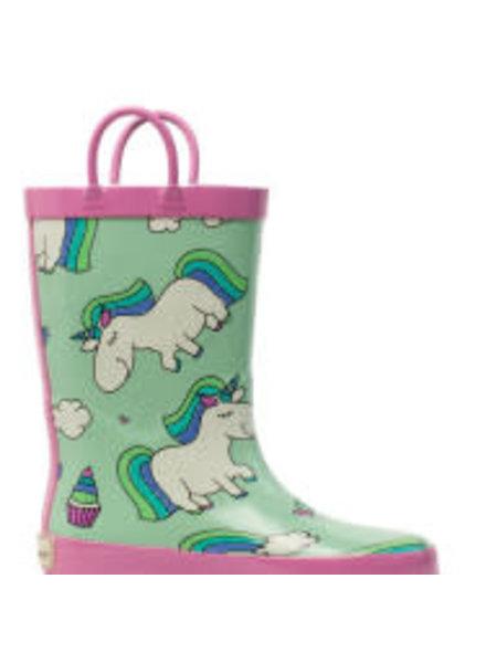 Timbee Rainbow Unicorn Rain Boots