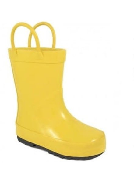Baby Deer Yellow Rain Boots
