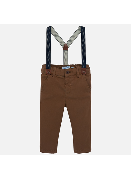 Mayoral Chino Pants w/ Suspenders