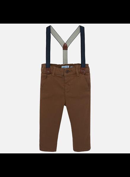 Mayoral Chino Pants w/ Suspenders