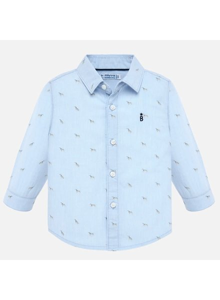 Mayoral Light Blue Dalmatian Shirt