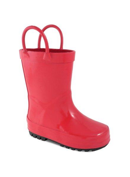 Baby Deer Red Rain Boots