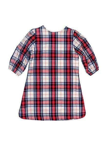 Shaw Plaid Tunic Dress