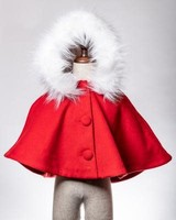 M.L. Kids Little Red Riding Hood Coat