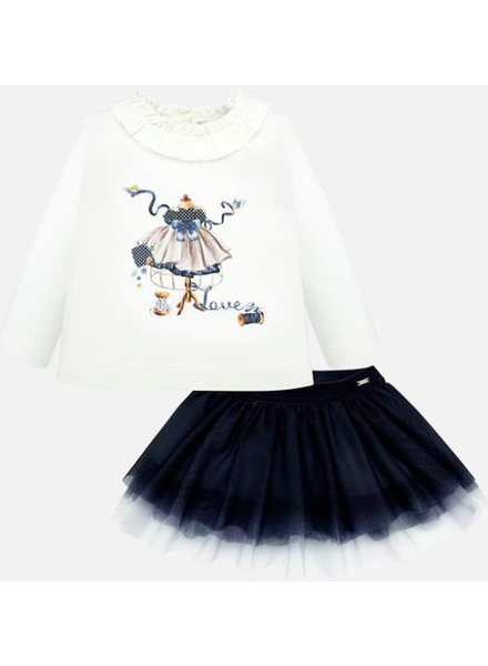 Mayoral Tulle Skirt Set