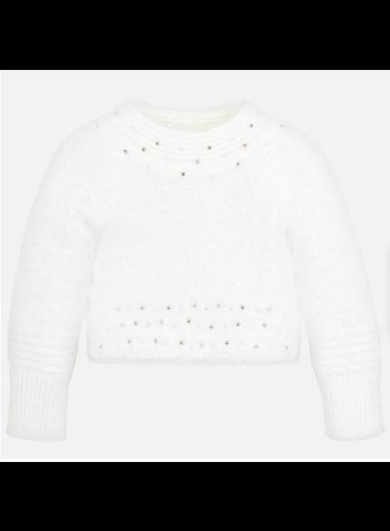 Mayoral Fur Sweater