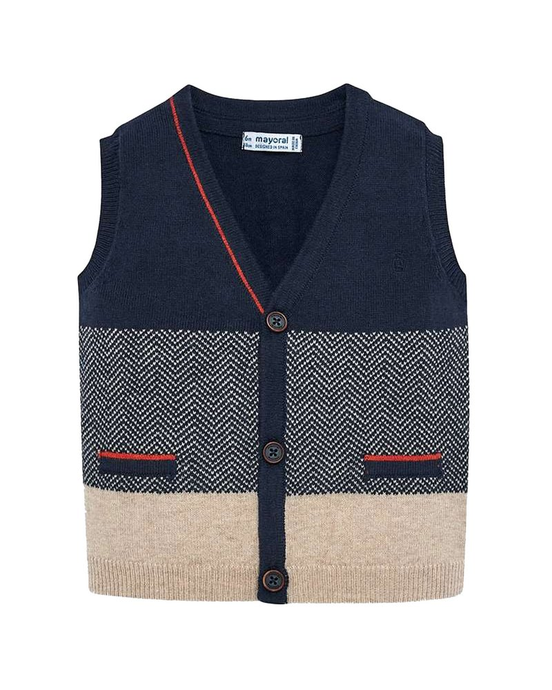 Mayoral Knitting Vest