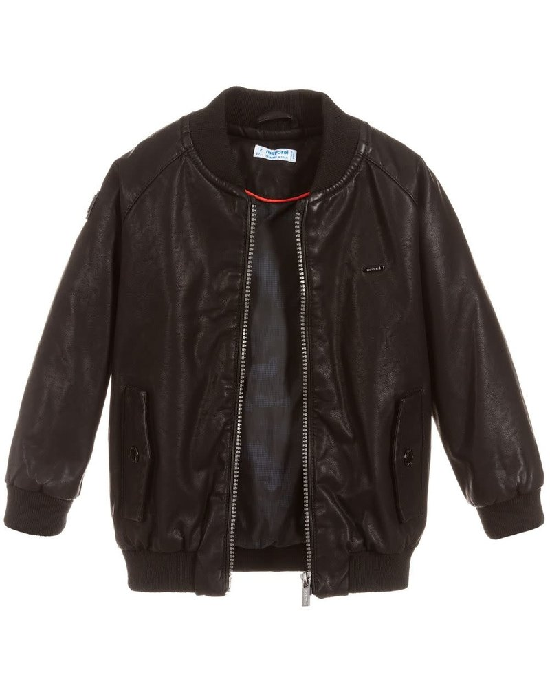 Mayoral Black Bomber Jacket