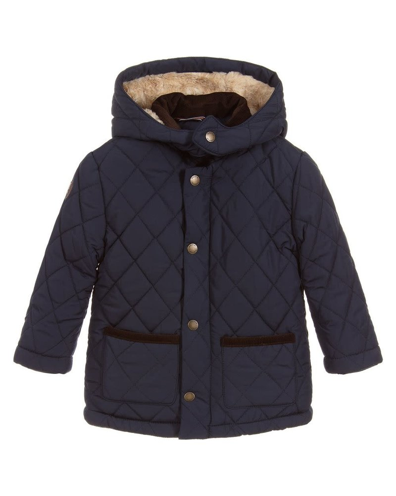 Mayoral Navy Plush Jacket