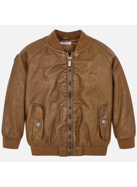 Mayoral Cognac Bomber Jacket