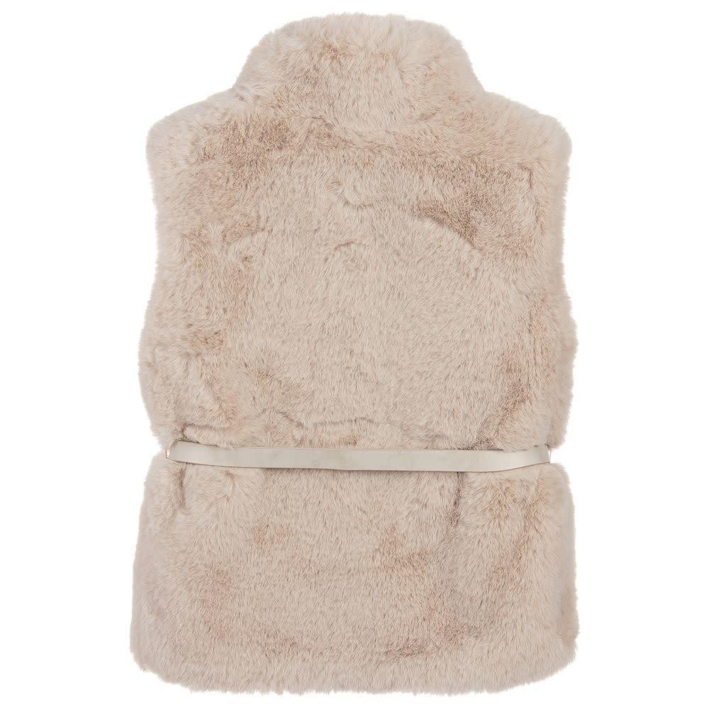 4307 Ruby Fur Vest for Girls Mayoral