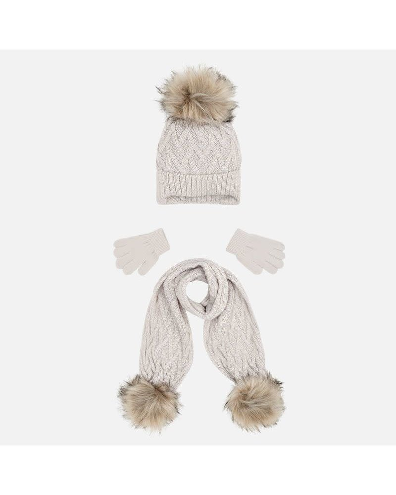 Mayoral Hat and Scarf Set