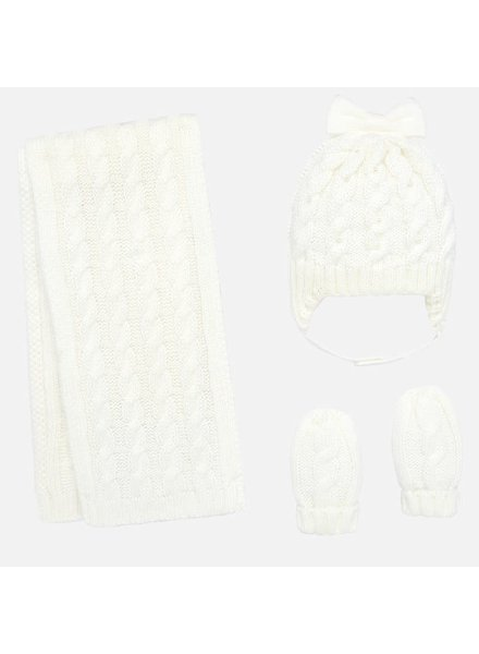Mayoral Infant Hat & Scarf Set