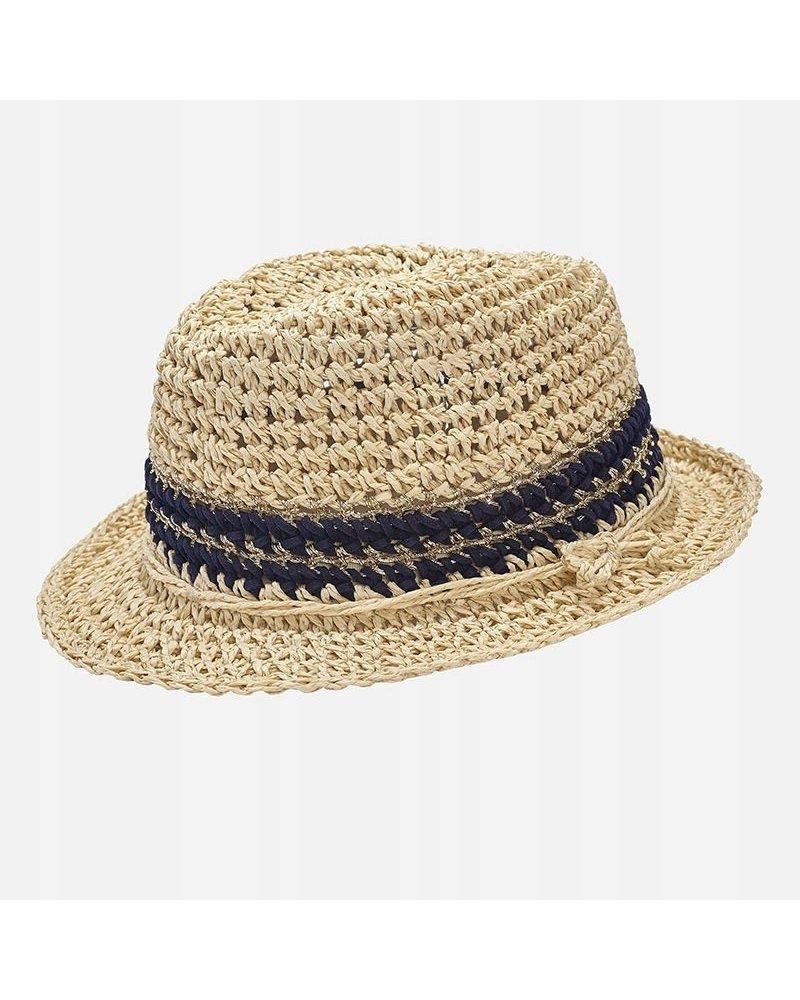 Mayoral Straw Fedora Hat