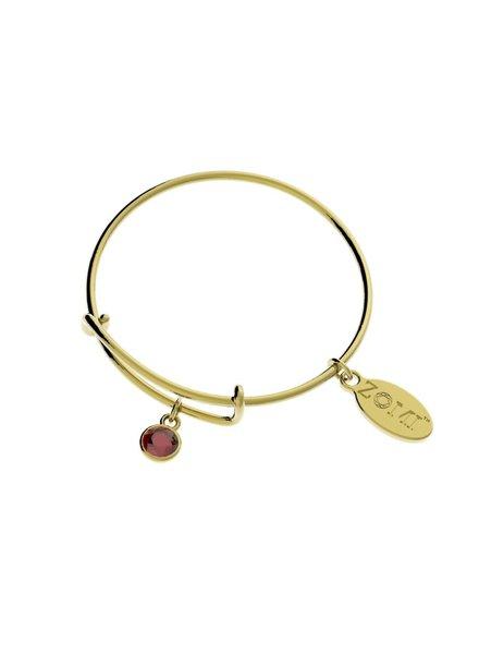 Birthstone Bracelets (Gold)