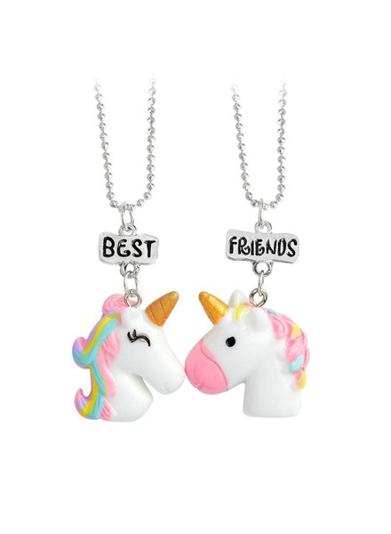Best Friends Unicorn Necklace