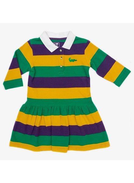 Me Me Ashley Mardi Gras Dress Infant