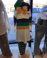 Me Me Rugby (A-Line) Mardi Gras Dress
