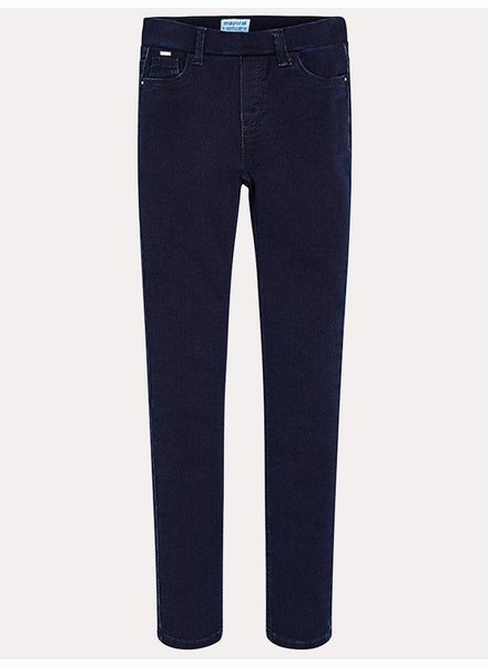Mayoral Super Dark Basic Denim Jeggings