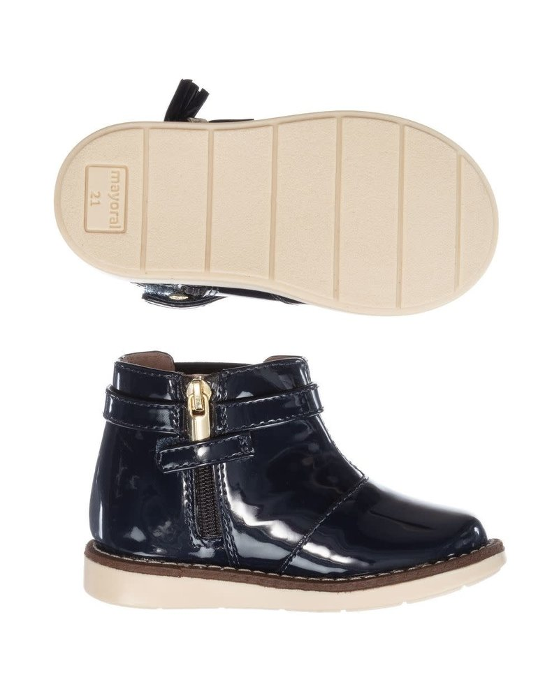 Mayoral Patent Leather Bootie