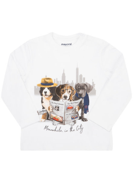 Mayoral L/S Dog Shirt